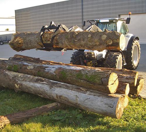 Holz-Doppelgreifer